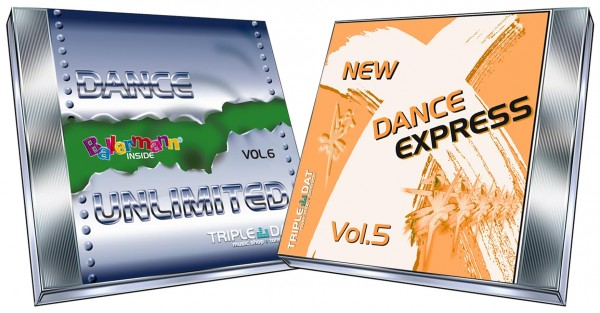 Bundle New Dance X-Press Vol.5 + Dance UnLimited Vol.6-CD