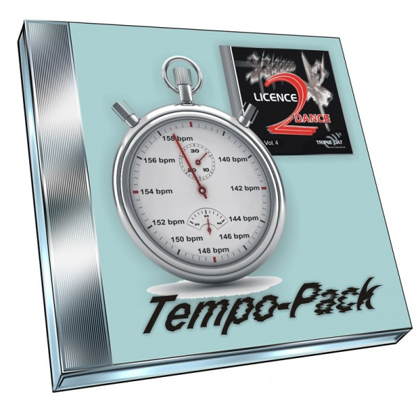 Licence 2 Dance Vol.4 - Tempo-Pack (Doppel-CD)
