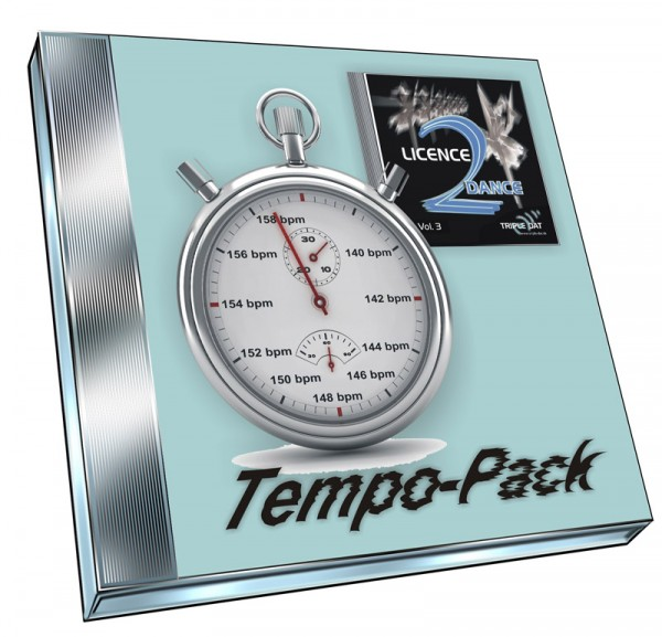 Licence 2 Dance Vol.3 - Tempo-Pack (Doppel-CD)