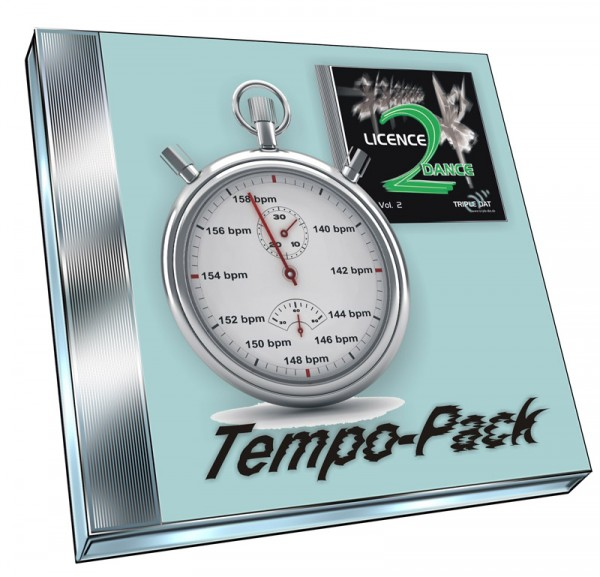 Licence 2 Dance Vol.2 - Tempo-Pack (Doppel-CD)