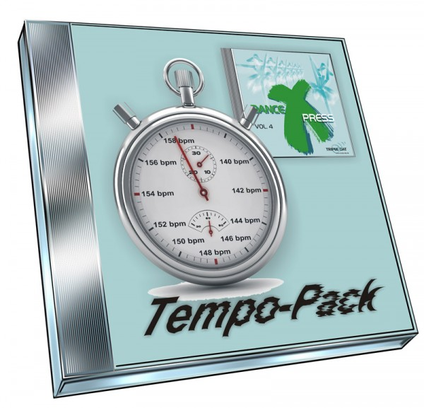 Dance X-Press Vol.4 - Tempo-Pack (Doppel-CD)