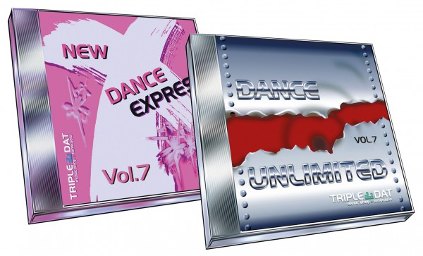 Bundle New Dance X-Press Vol. 7 + Dance UnLimited Vol. 7