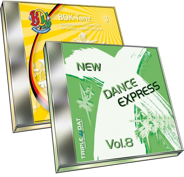 New Dance X-Press Vol. 8 / BDK Tanz Vol. 3 - Bundle