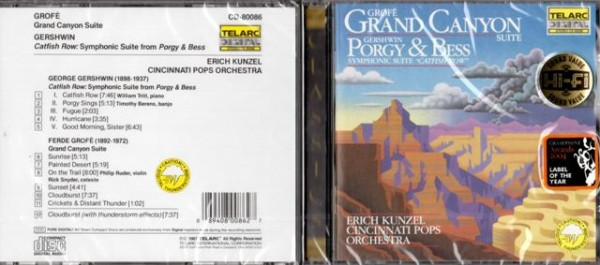 Erich Kunzel - Grand Canyon Suite / Porgy & Bess