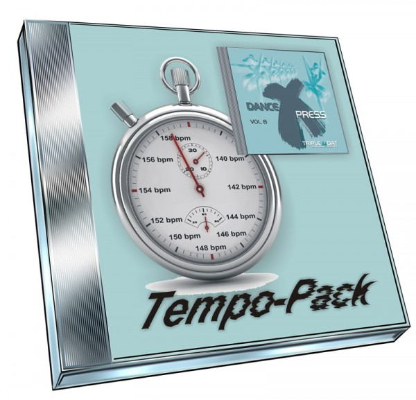Dance X-Press Vol.8 Tempo-Pack (Doppel-CD)