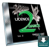 Licence 2 Dance Vol.2-Download Audio-CD