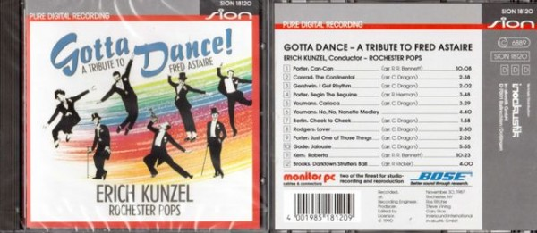 Erich Kunzel - Gotta Dance - Tribute to Fred Astaire