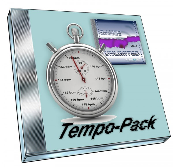 Dance UnLimited Vol.4 Tempo-Pack (Doppel-CD)