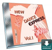 NEW Dance X-Press Vol. 1 - Download Audio-CD
